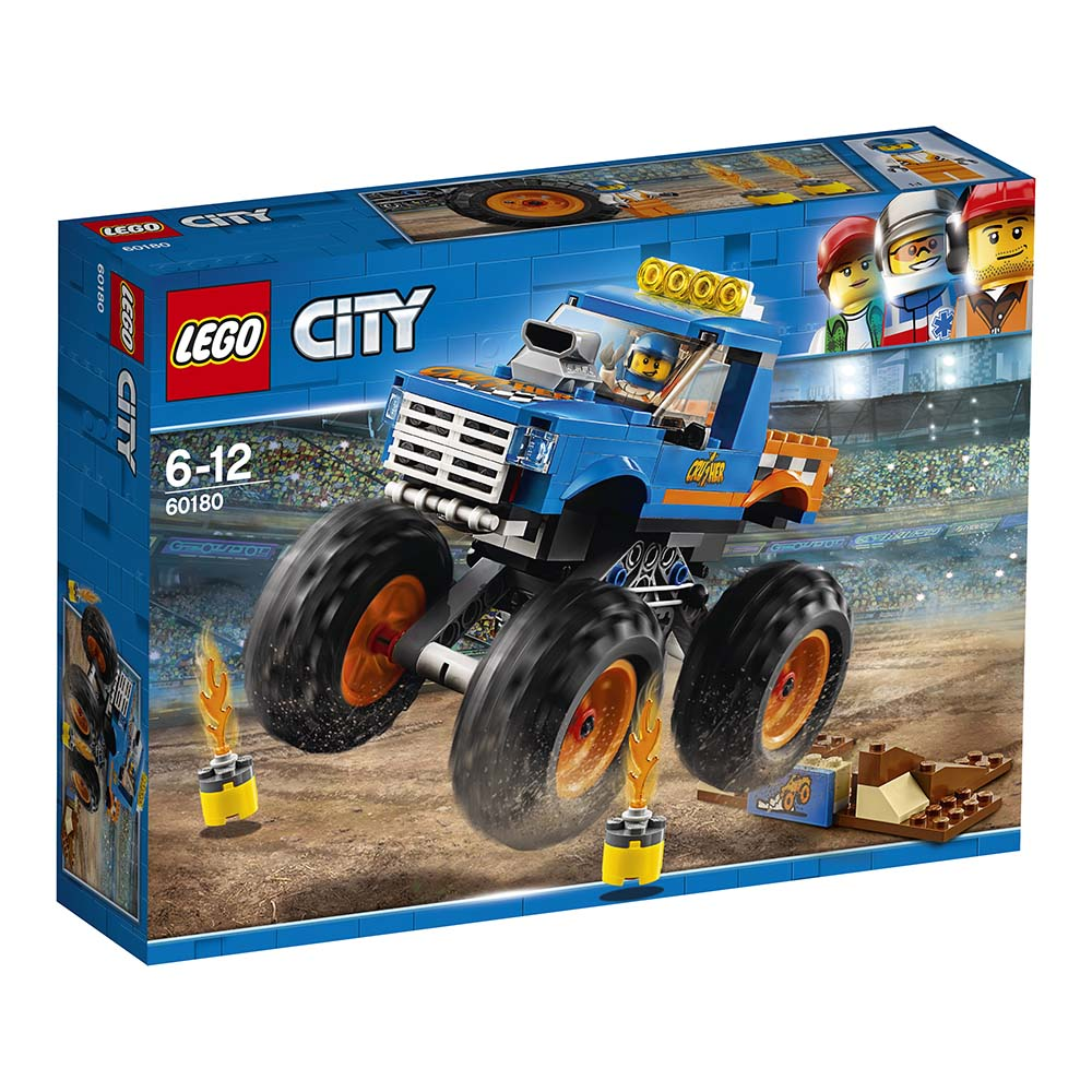 lego® city great vehicles - camion gigant (60180)