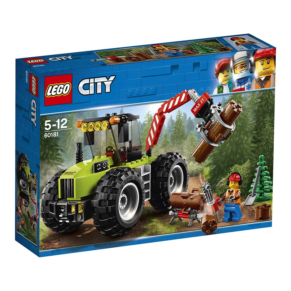 lego® city great vehicles - tractor de pădure (60181)