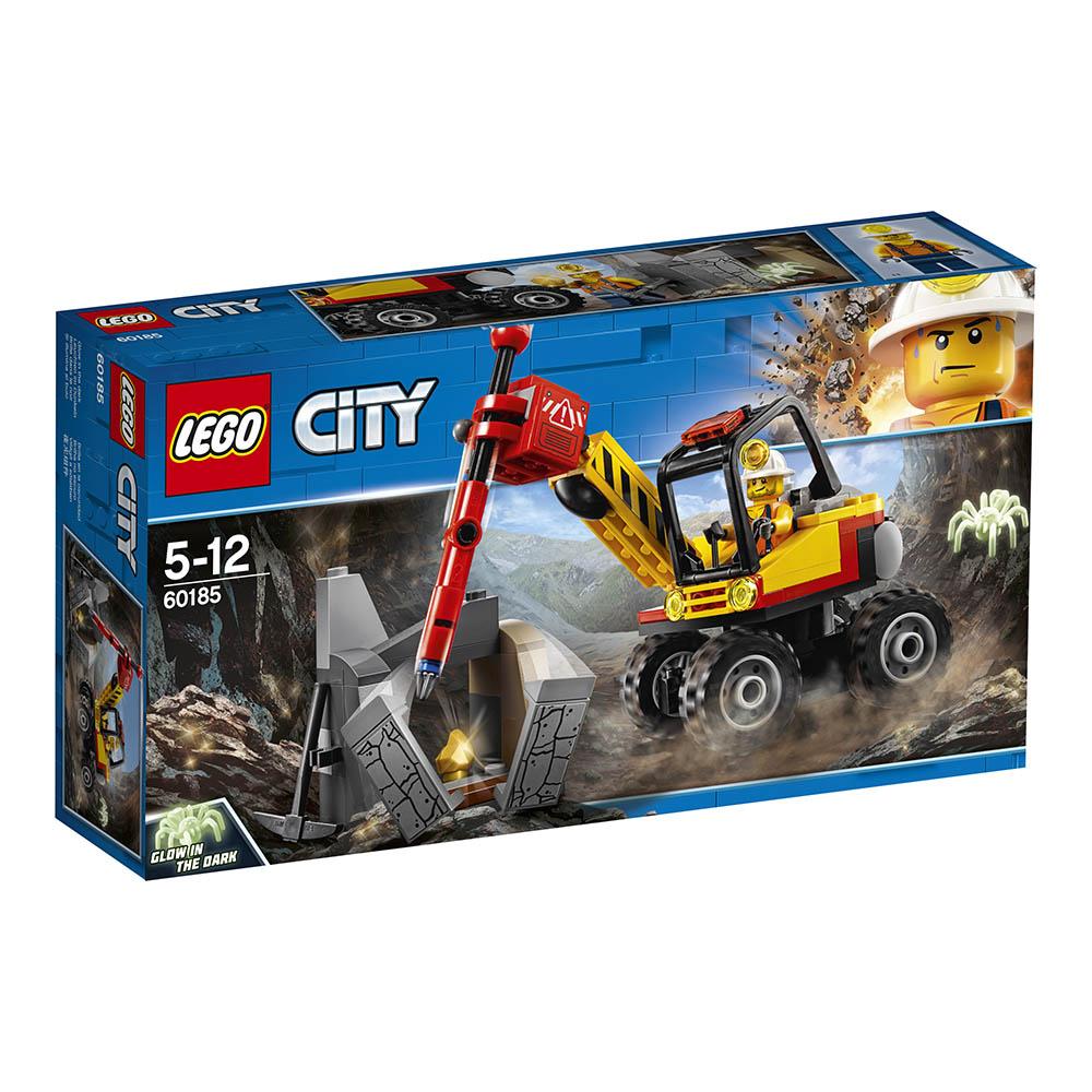 lego® city mining - ciocan pneumatic pentru minerit (60185)