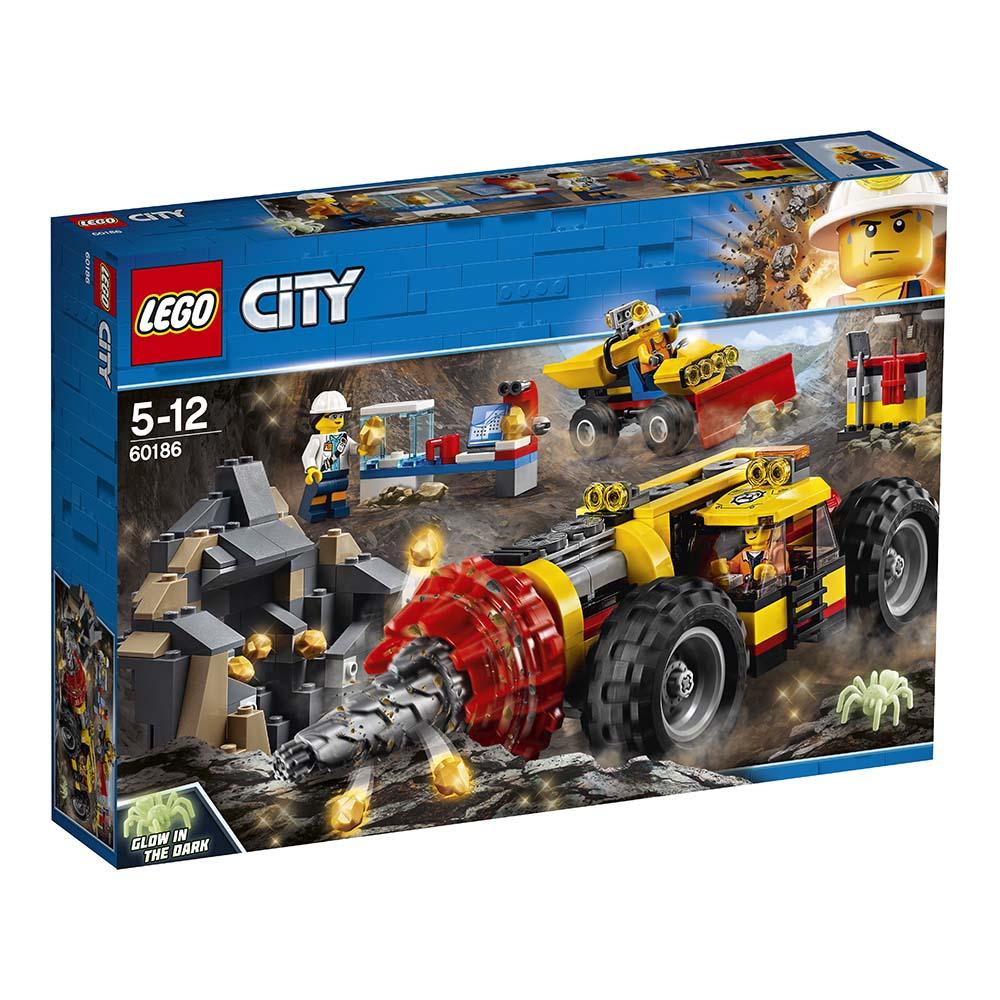 lego® city mining - foreza de minerit de mare putere (60186)