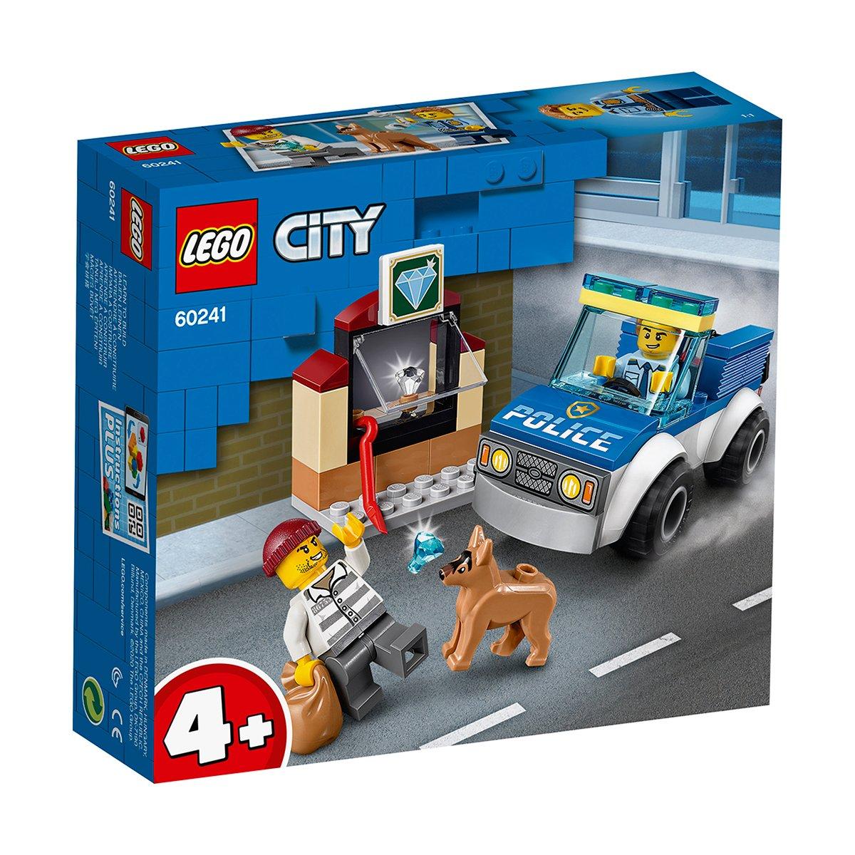 LEGO® City Police - Unitatea de politie canina (60241)