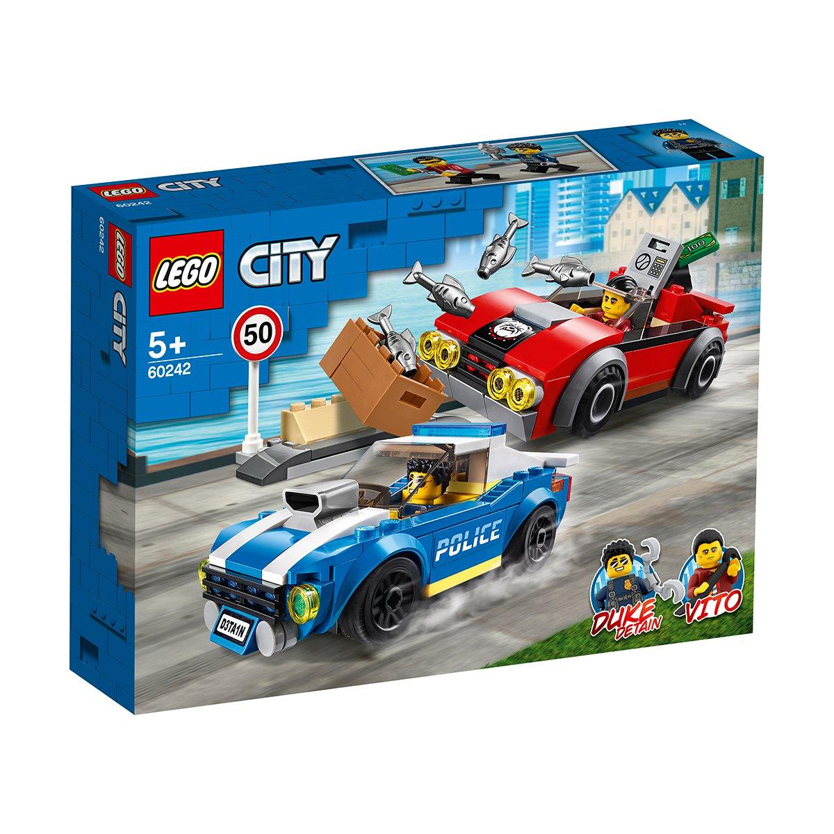 LEGO® City Police - Arest pe autostrada al politiei (60242)