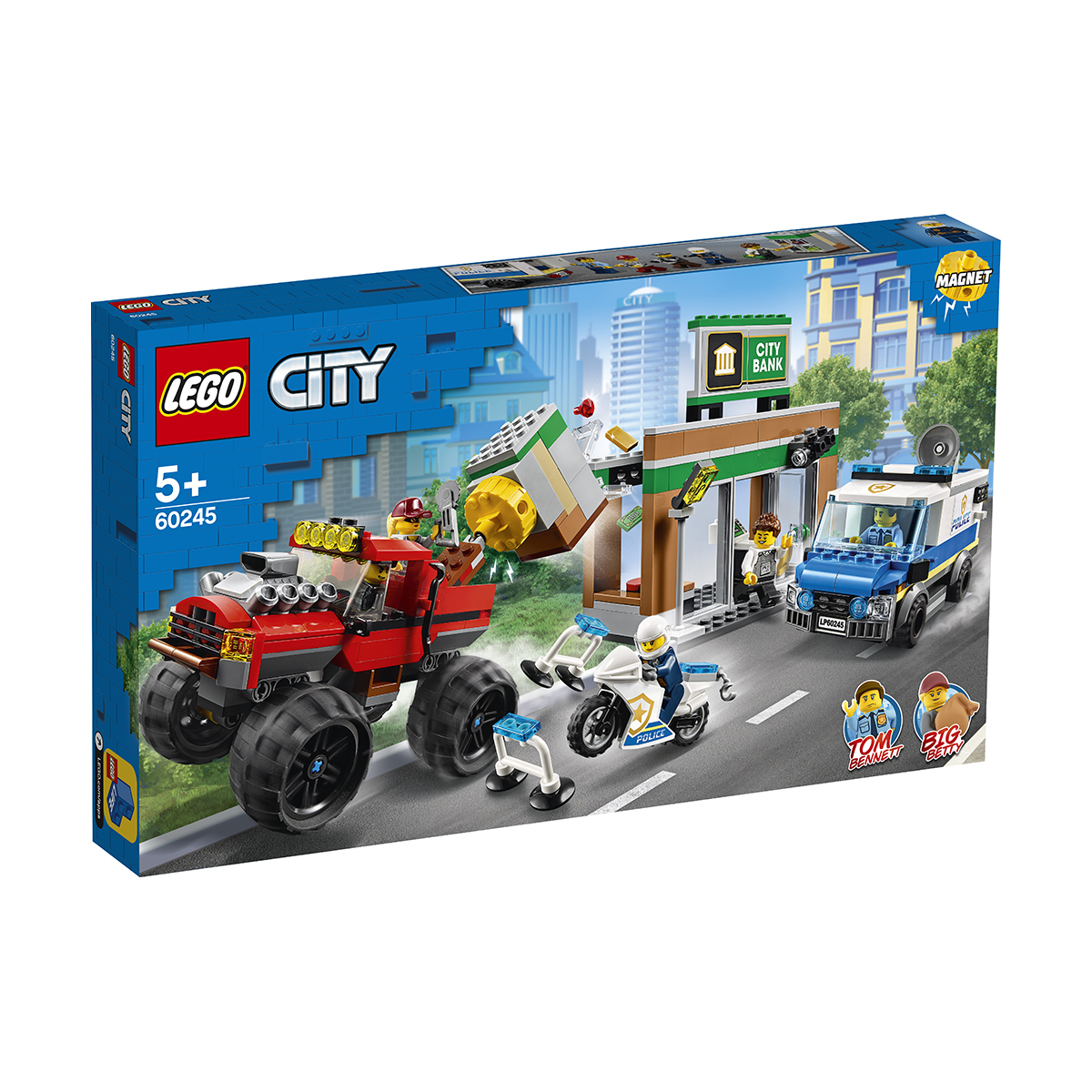 LEGO® City Police - Camionul gigant de politie si atacul armat (60245)