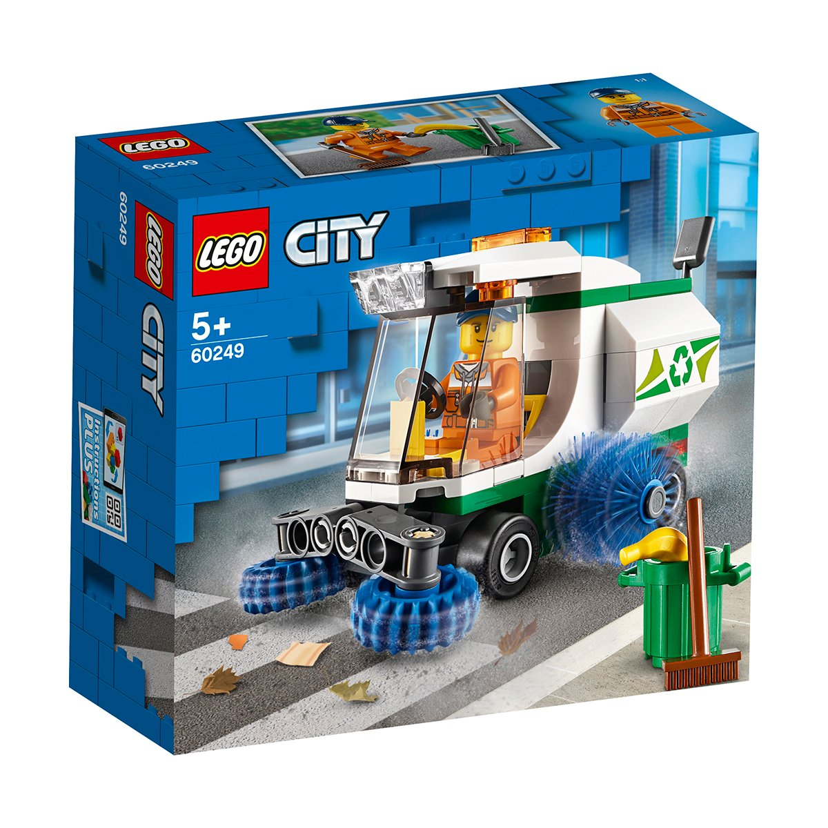 LEGO® City - Masina de maturat strada (60249)