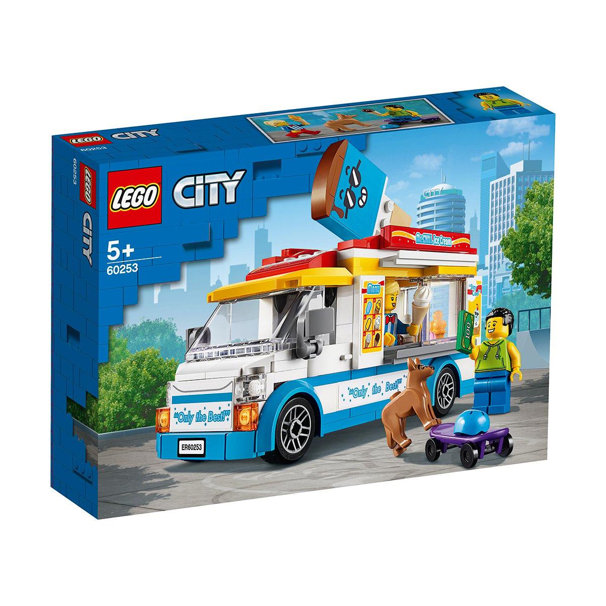 LEGO® City - Furgoneta cu inghetata (60253)