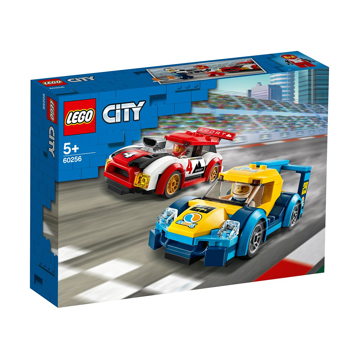 LEGO® City Great Vehicles - Masini de curse (60256)