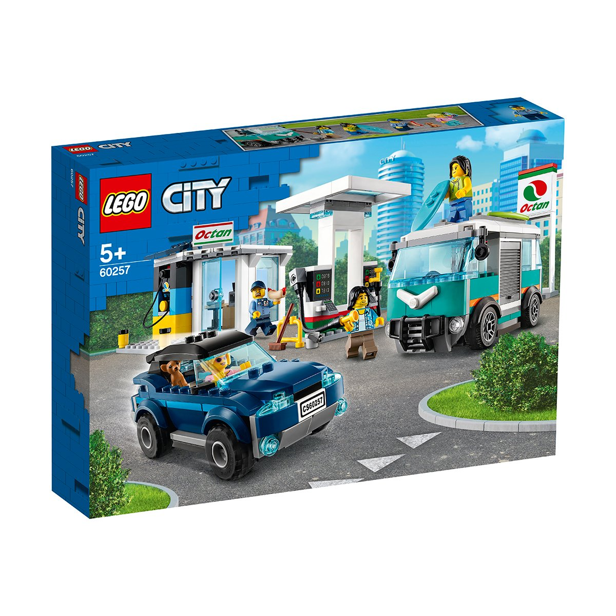 LEGO® City Great Vehicles - Statie de service (60257) imagine