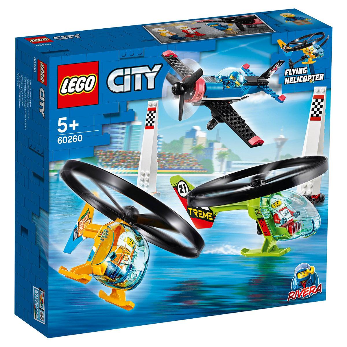 LEGO® City - Cursa aeriana (60260)