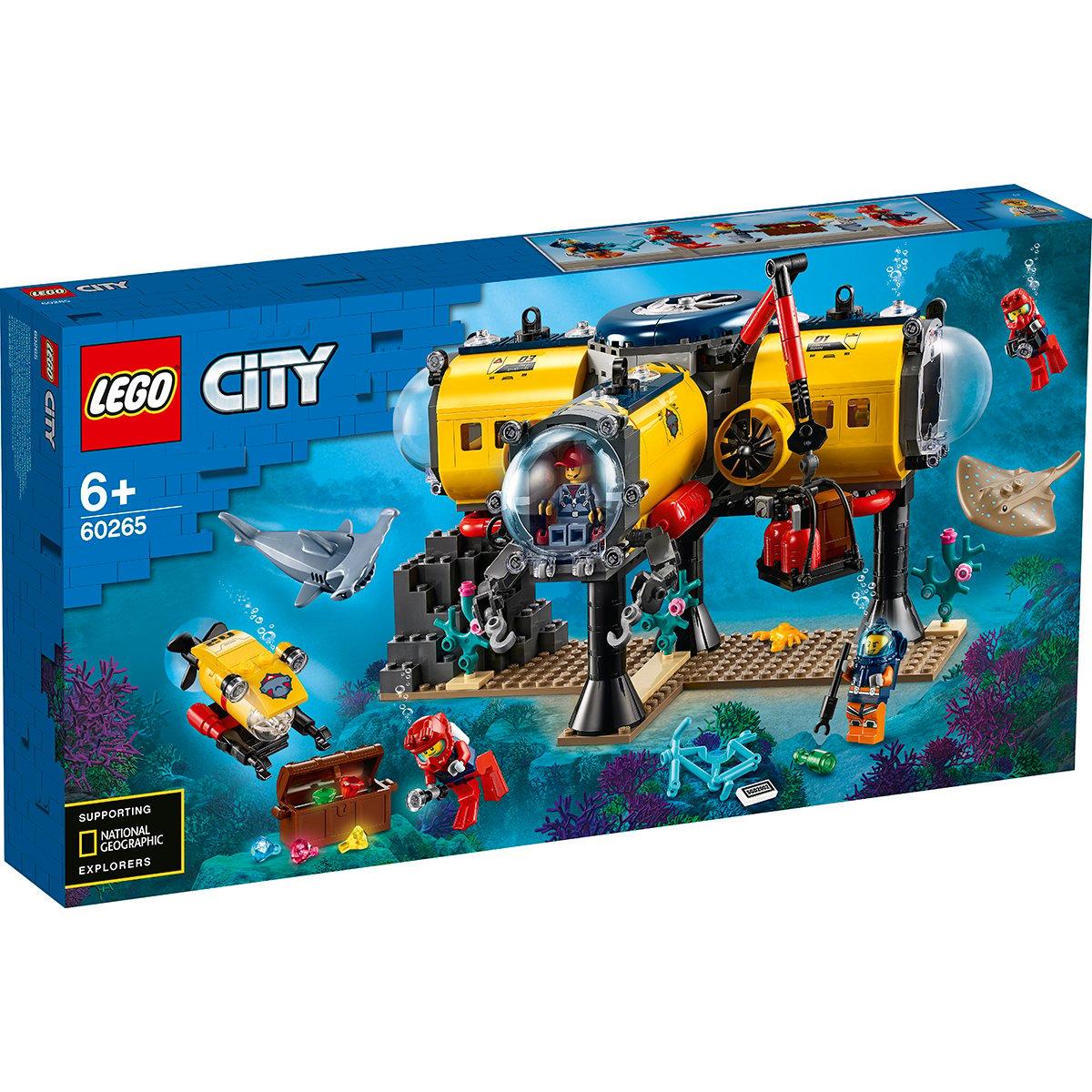 LEGO® City - Baza de explorare a oceanului (60265)