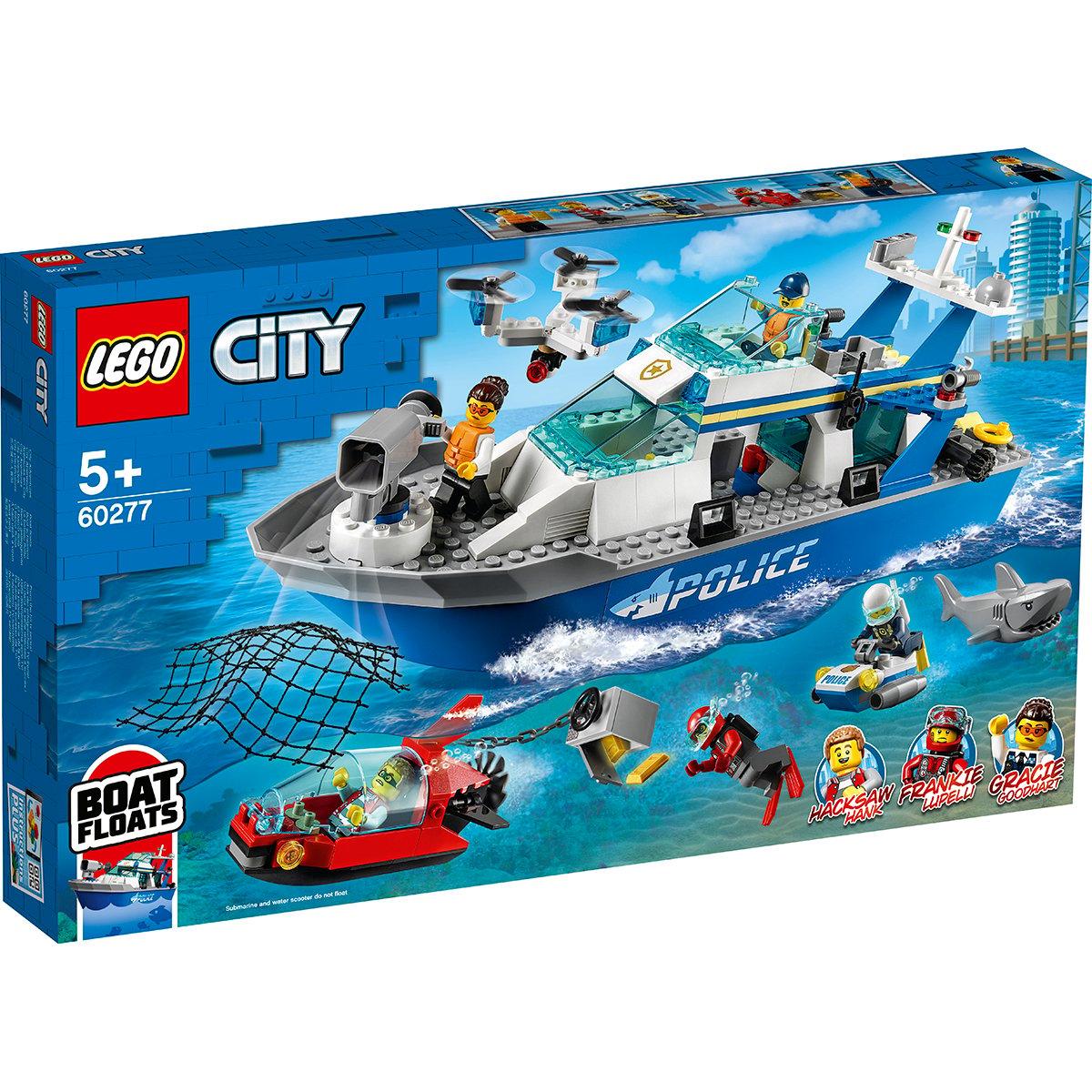 Lego® City - Nava De Patrulare A Politiei (60277)