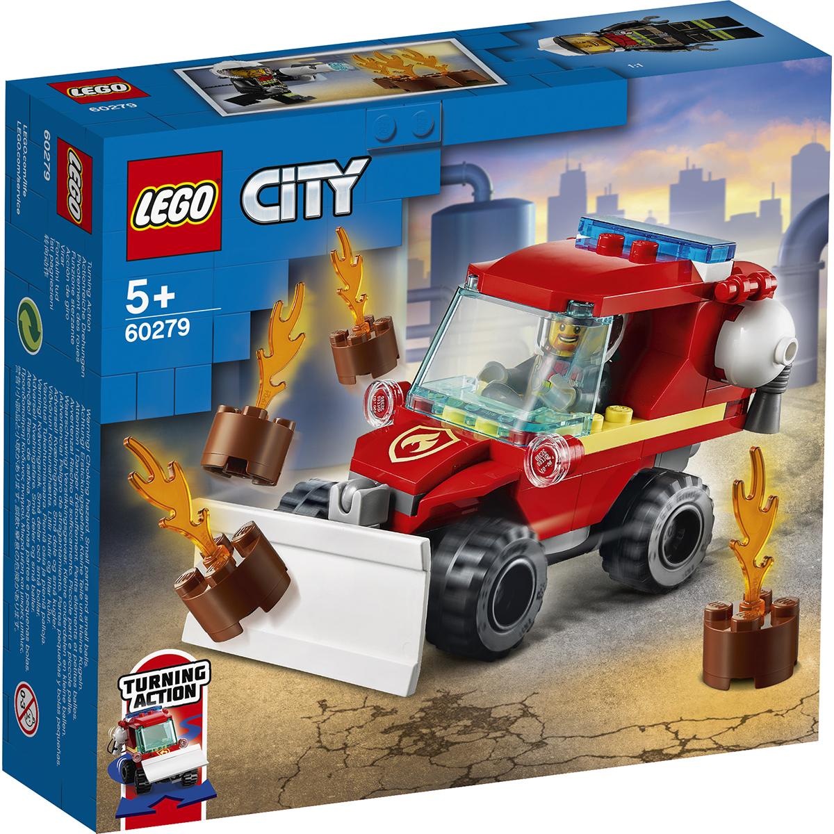 LEGO® City - Camion de pompieri (60279)