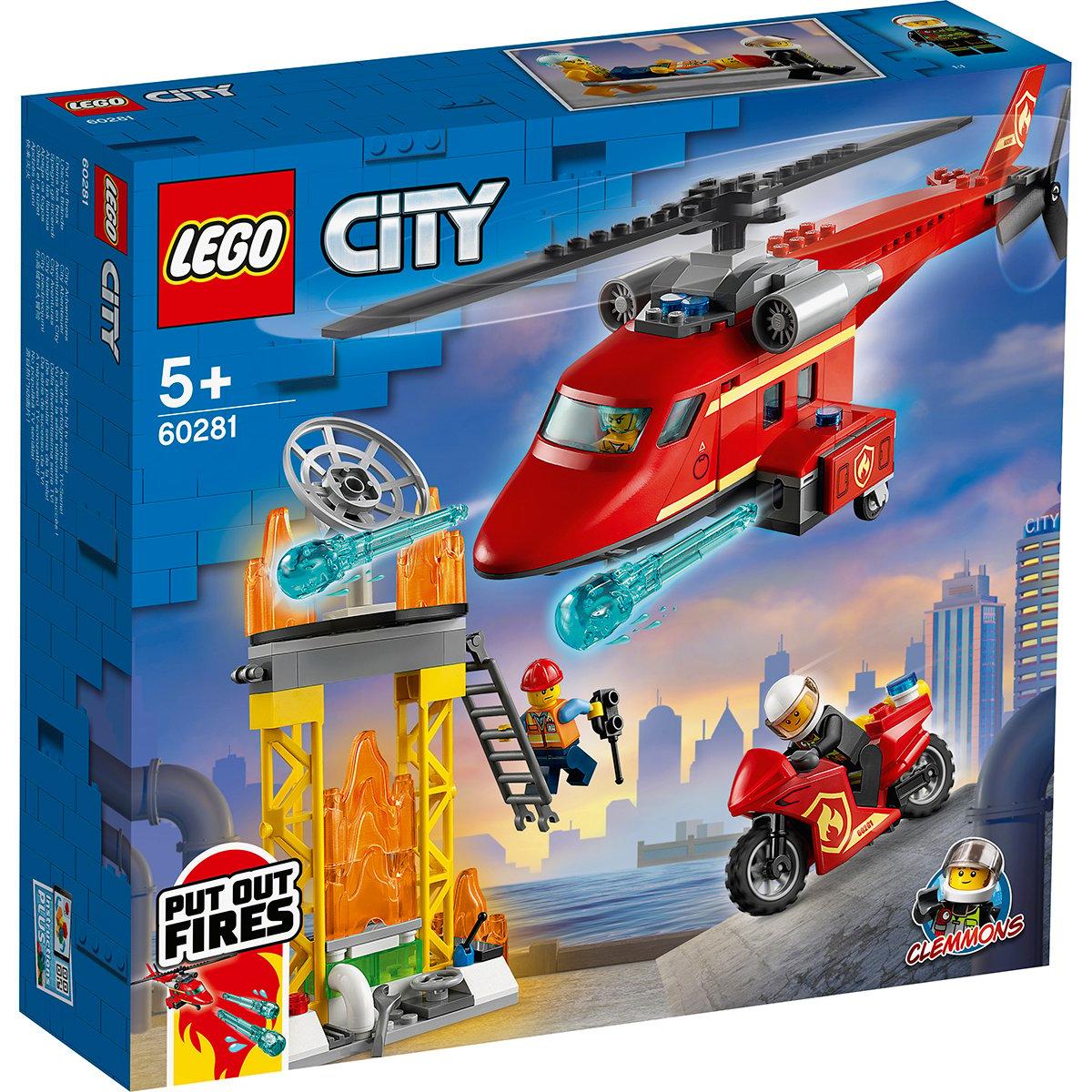 LEGO® City - Elicopter de pompieri (60281)
