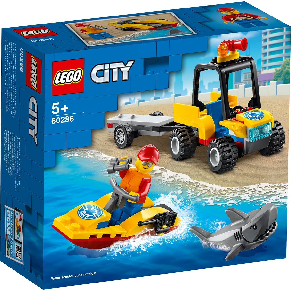 LEGO® City - ATV de salvare pe apa (60286)