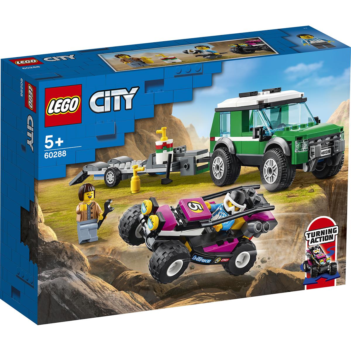 LEGO® City - Transportor automobile de curse (60288)