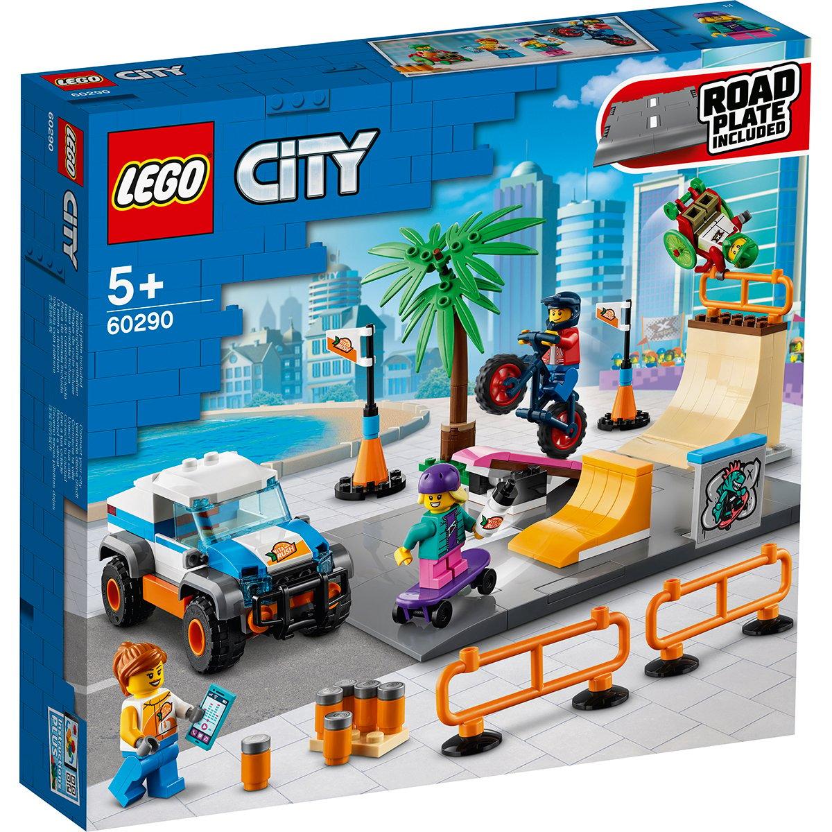 LEGO® City - Parc de skateboarding (60290)