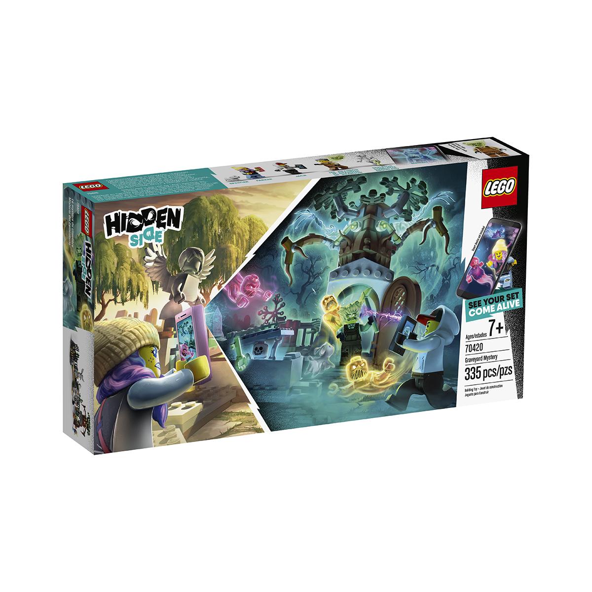 LEGO® Hidden Side™ - Misterul din cimitir (70420)
