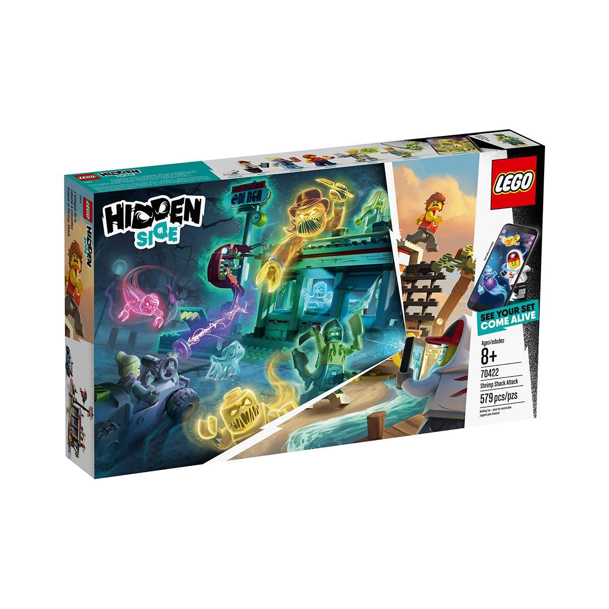 LEGO® Hidden Side™ - Atacul de la baraca cu creveti (70422)