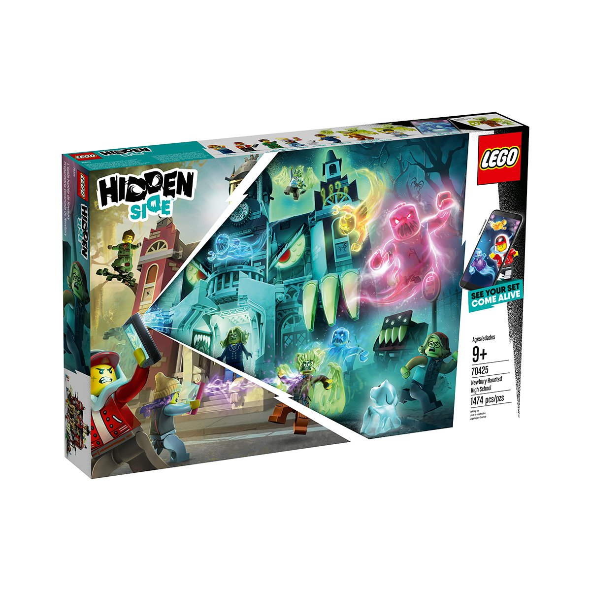 LEGO® Hidden Side™ - Liceul bantuit Newbury (70425)