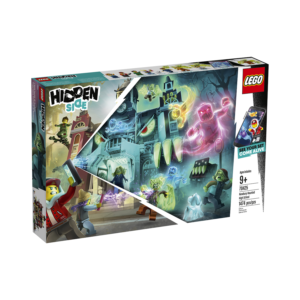 LEGO® Hidden Side™ - Liceul bantuit Newbury (70425) imagine 2021