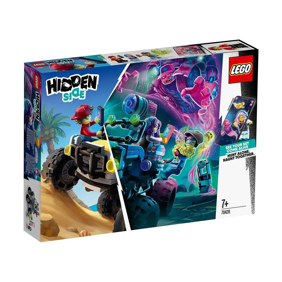 LEGO® Hidden Side™ - Masina de plaja a lui Jack (70428)