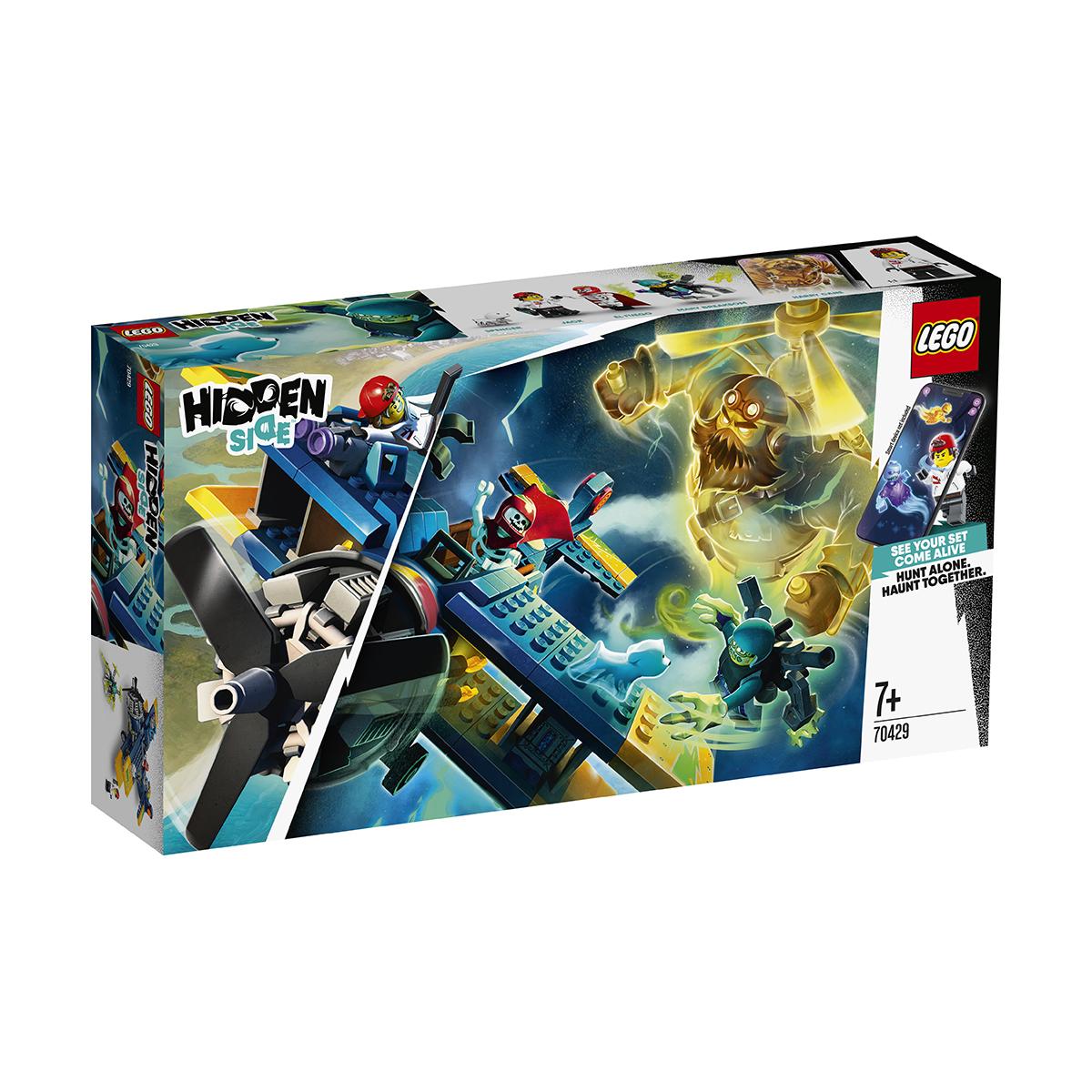 LEGO® Hidden Side™ - Avionul de cascadorie al lui El Fuego (70429)
