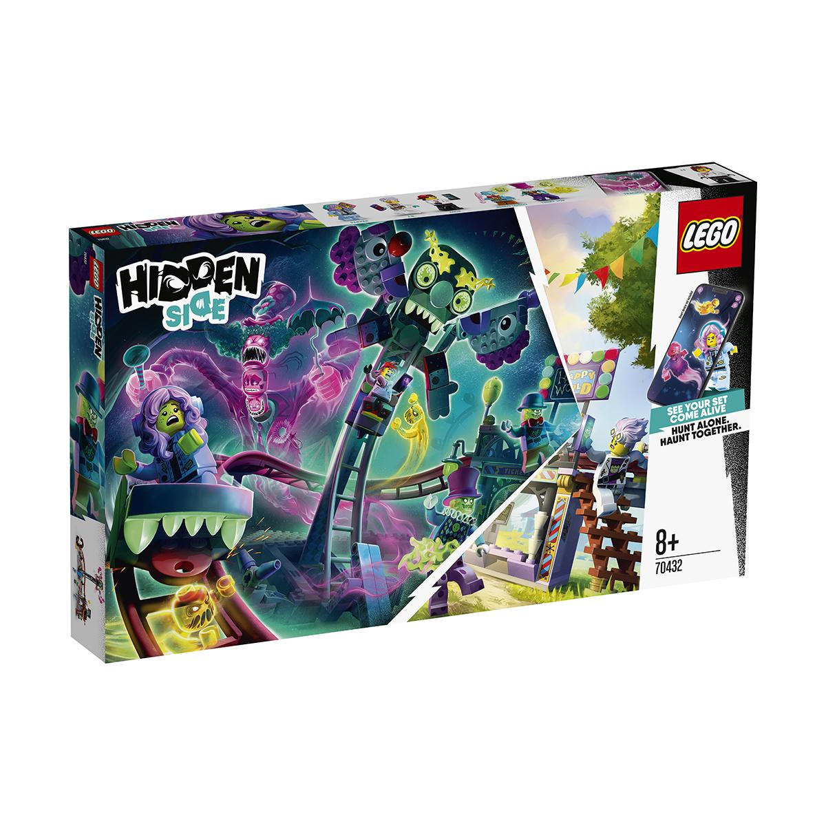 LEGO® Hidden Side™ - Parcul de distractii bantuit (70432) imagine