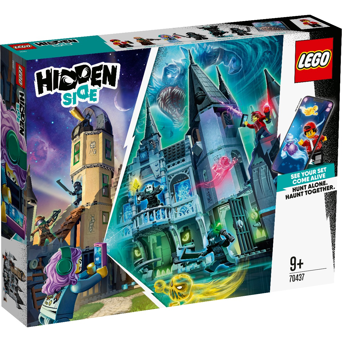 LEGO® Hidden Side™ – Castelul misterelor (70437)