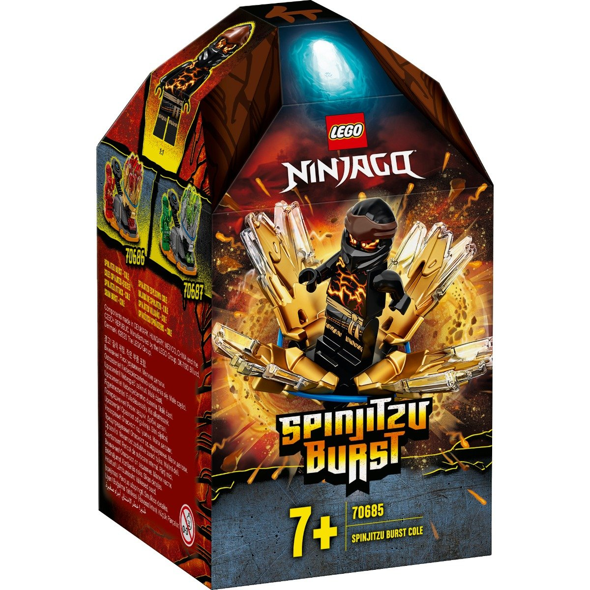 LEGO® Ninjago® - Spinjitzu Burst - Cole (70685)
