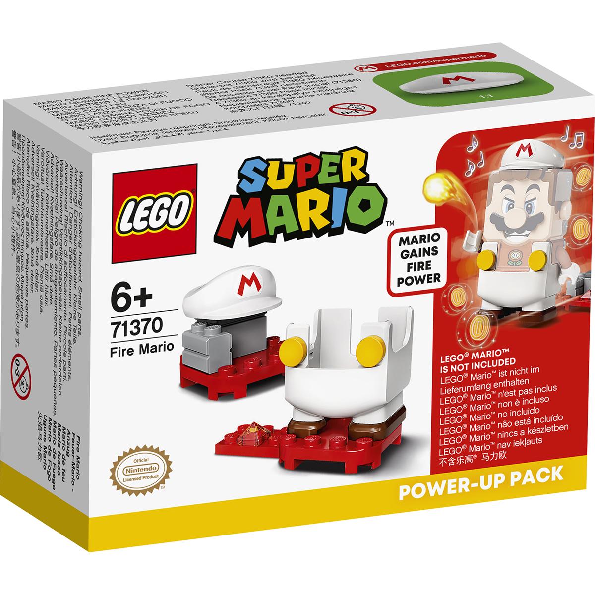 LEGO® Super Mario - Costum de puteri: Mario de Foc (71370)