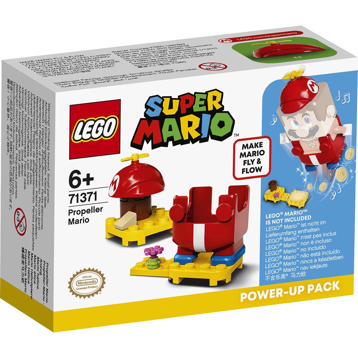 LEGO® Super Mario - Costum de puteri: Mario Aeronaut (71371)