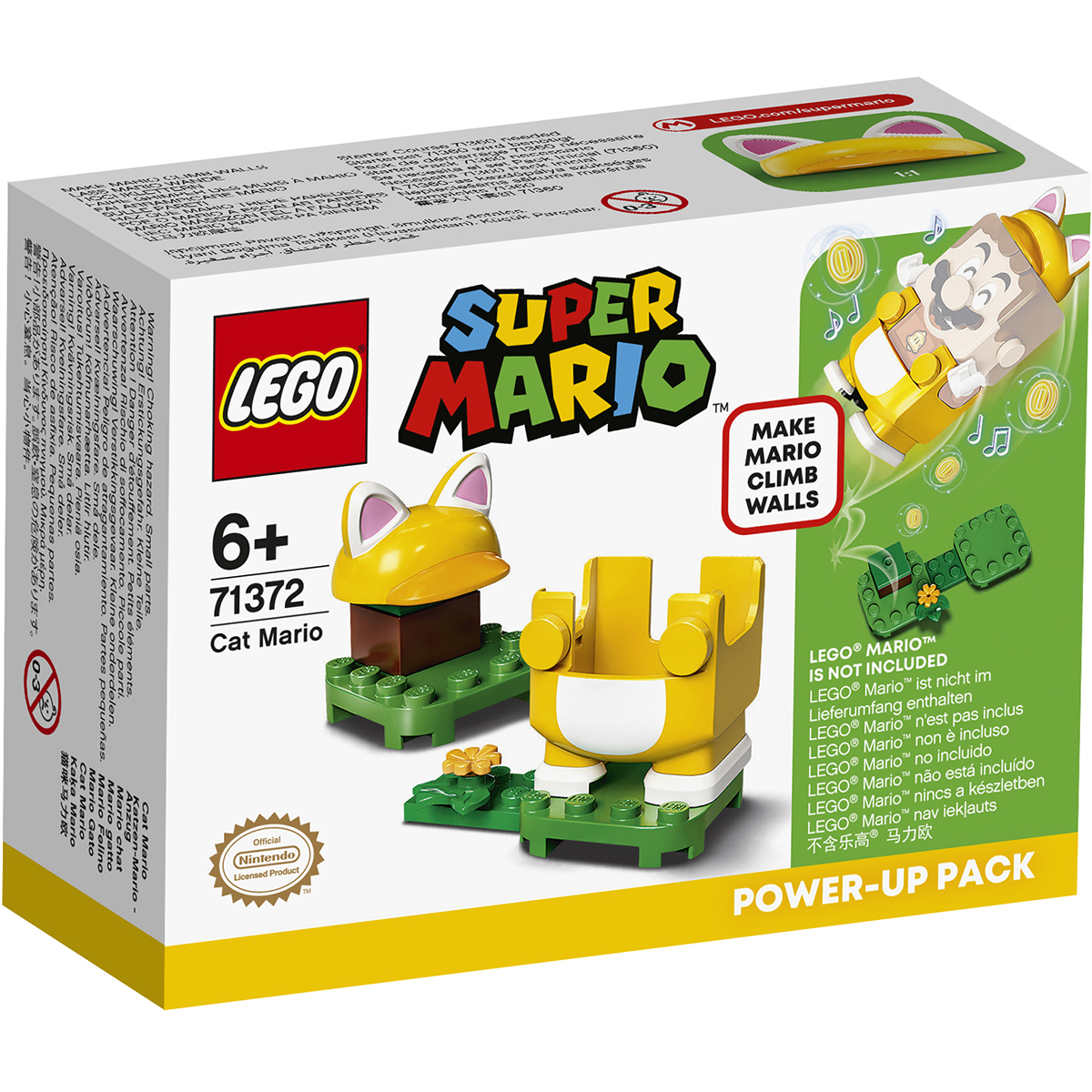 LEGO® Super Mario - Costum de puteri: Mario Pisica (71372)