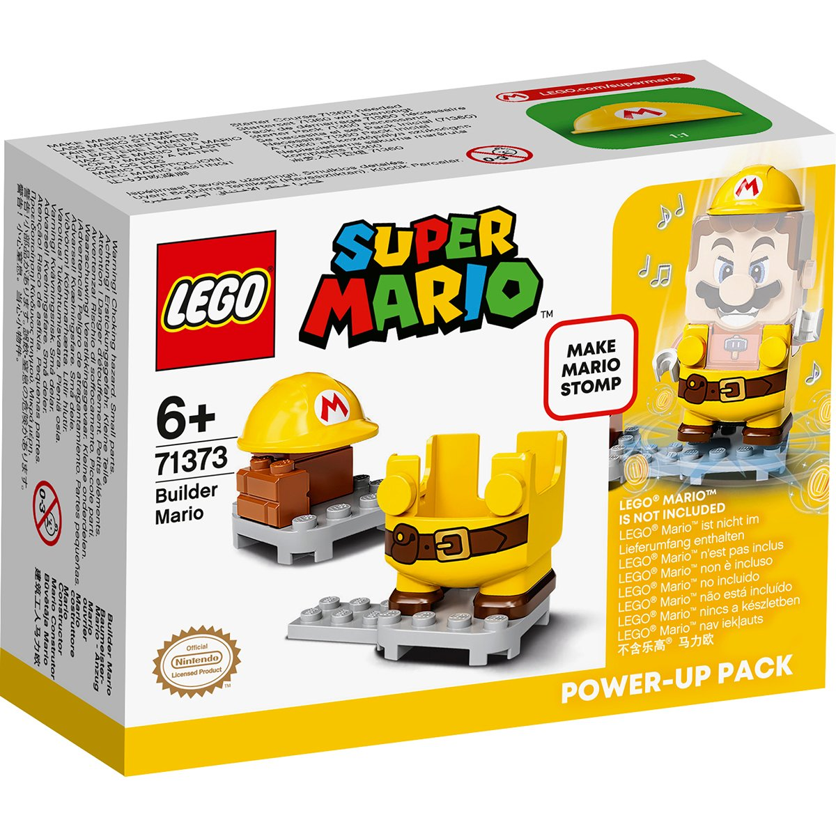LEGO® Super Mario - Costum de puteri: Mario Constructor (71373)