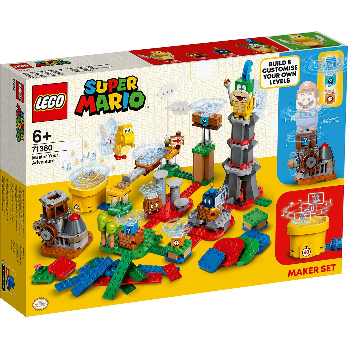 LEGO® Super Mario - Set de extindere Aventura ta (71380)