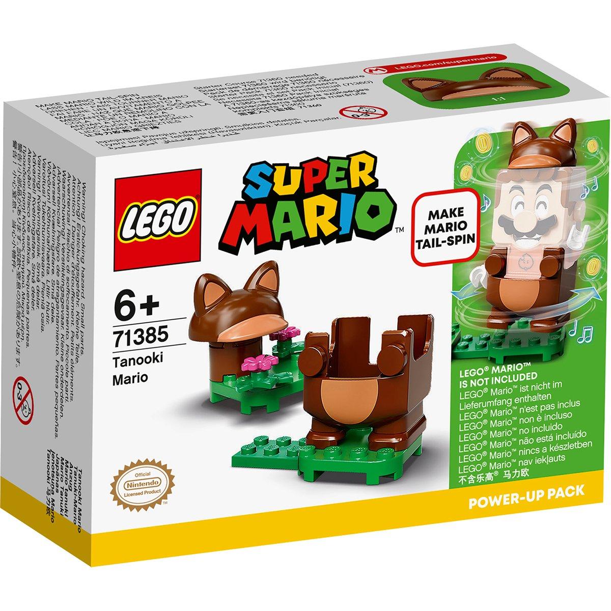 LEGO® Super Mario - Costum de puteri: Mario Tanooki (71385)
