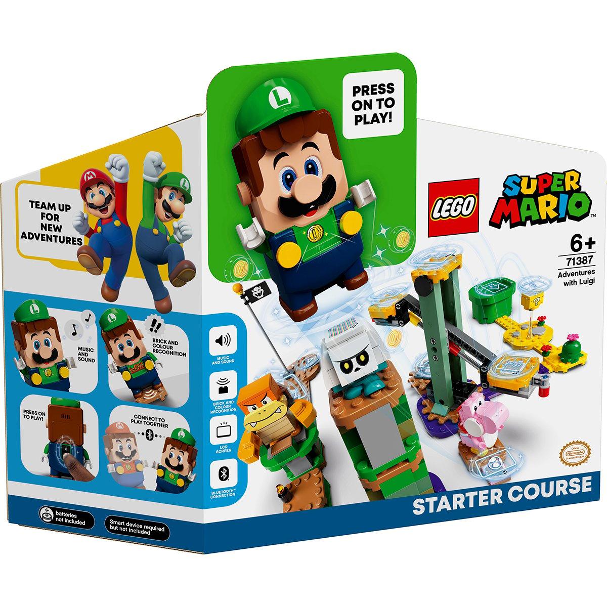 LEGO® Super Mario - Set De Baza Aventurile Lui Luigi (71387)