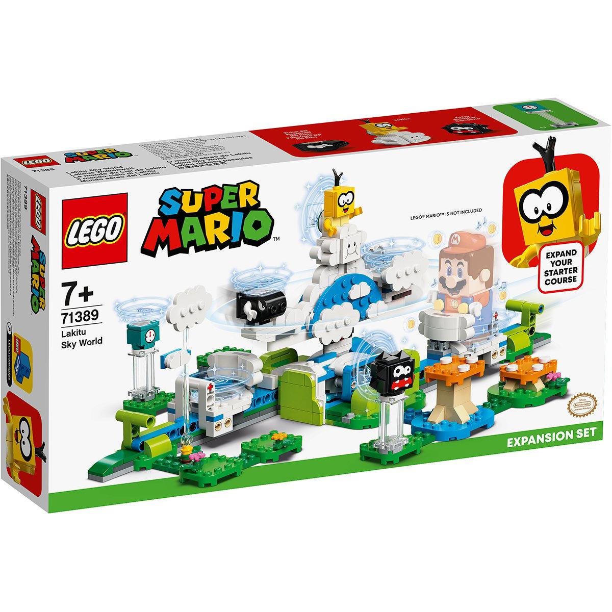 LEGO® Mario - Set De Extindere Lumea Din Cer A Lui Lakitu (71389)