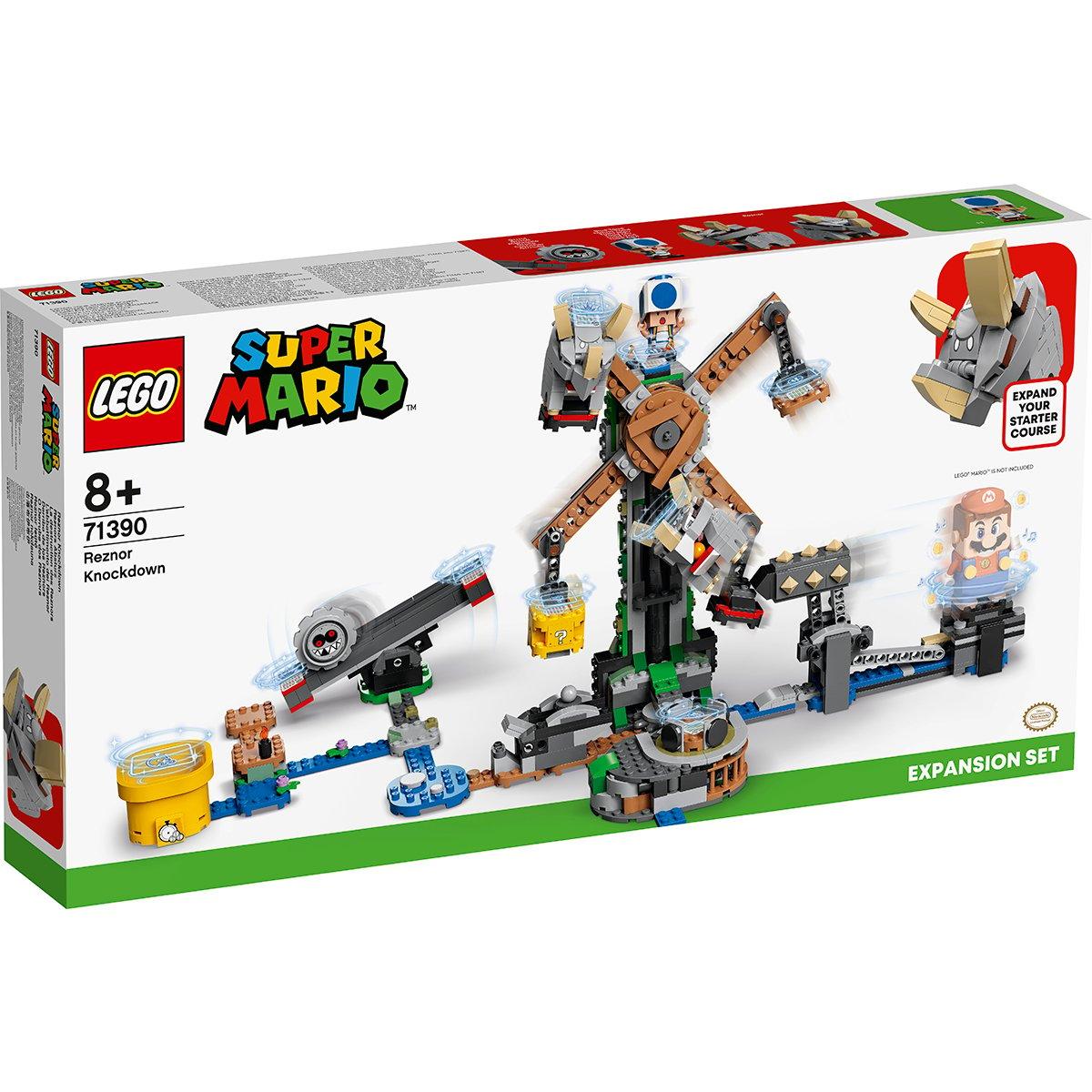 LEGO® Mario - Set De Extindere Daramarea Lui Reznor (71390)