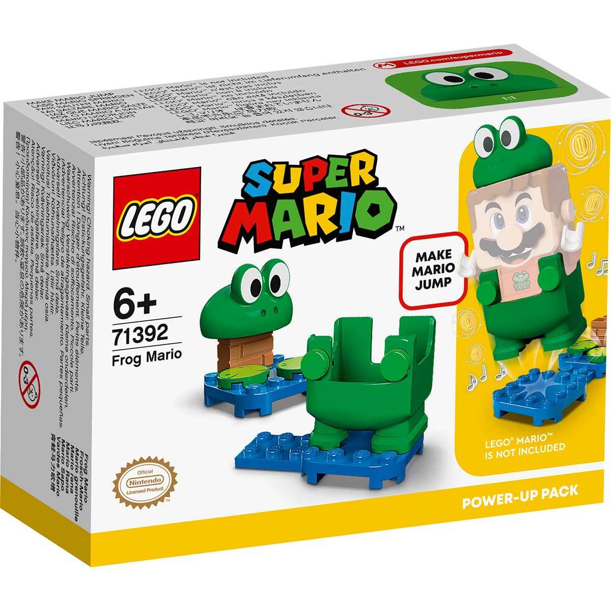 LEGO® Super Mario - Pachet De Puteri Suplimentare Mario Broasca (71392)