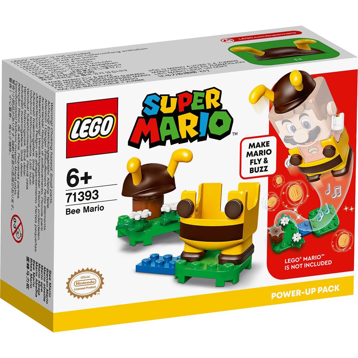 LEGO® Super Mario - Pachet De Puteri Suplimentare Mario Albina (71393)