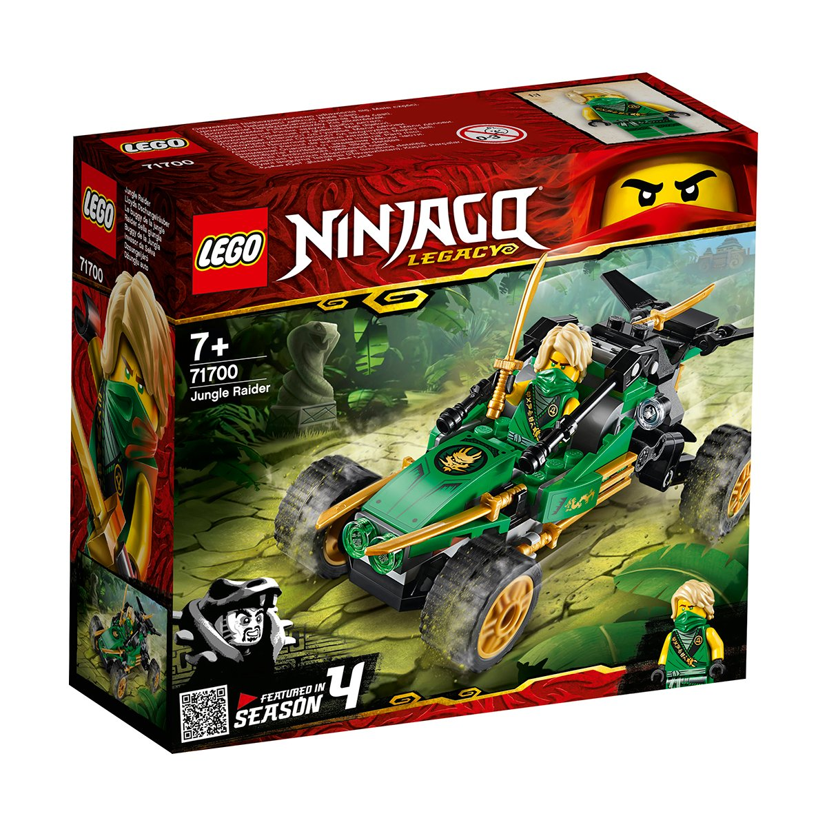 LEGO® Ninjago® - Jungle Rider (71700)