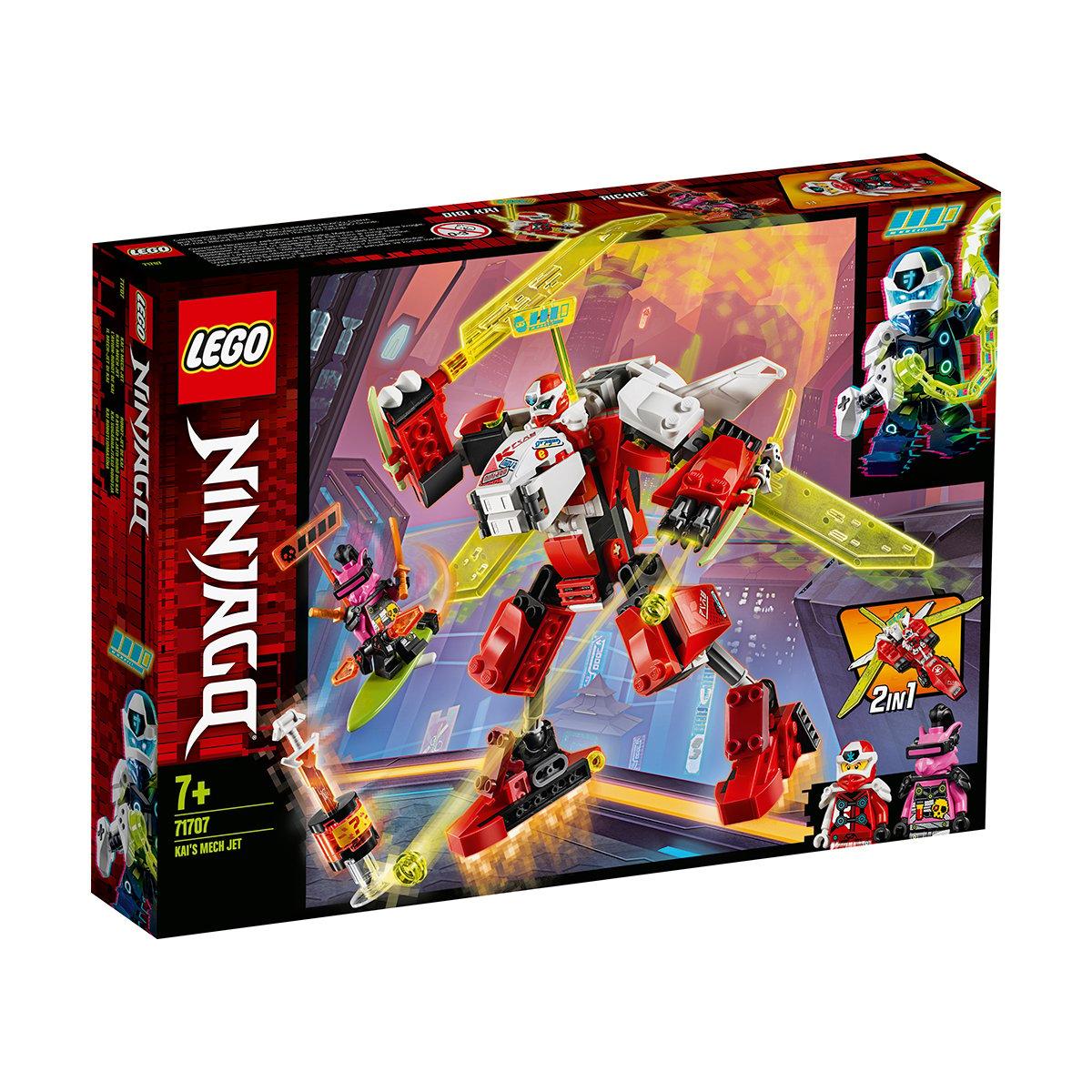 LEGO® Ninjago® - Robotul Avion cu reactie al lui Kai (71707)