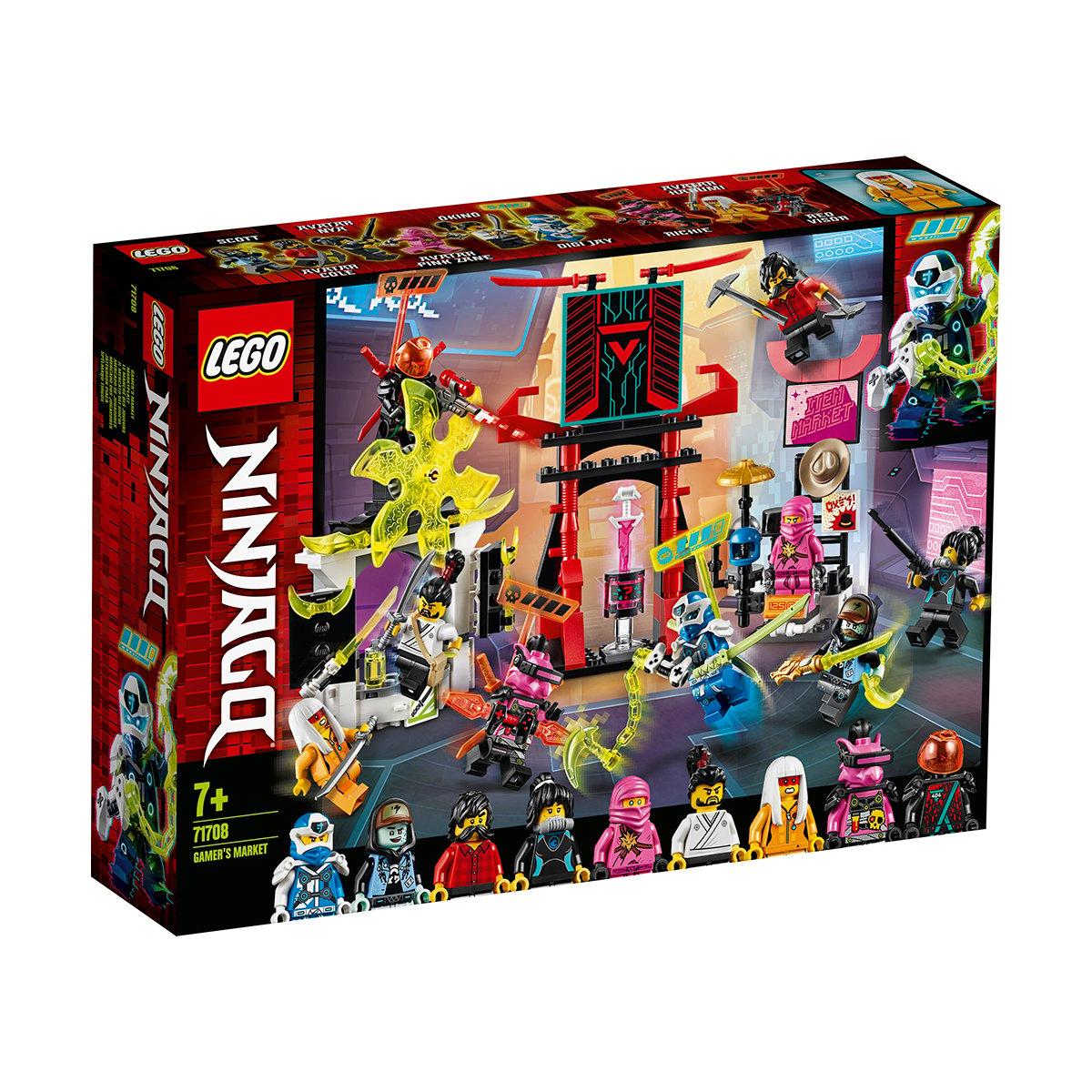 LEGO® Ninjago® - Piata jucatorului (71708)