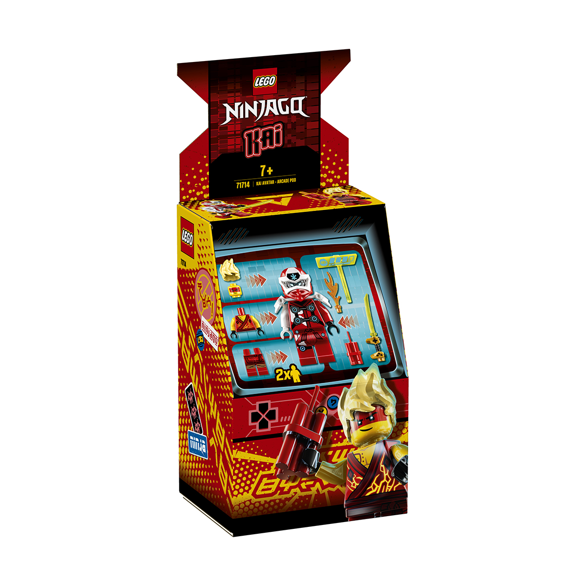 LEGO® Ninjago® - Avatar Kai - Capsula joc electronic (71714)