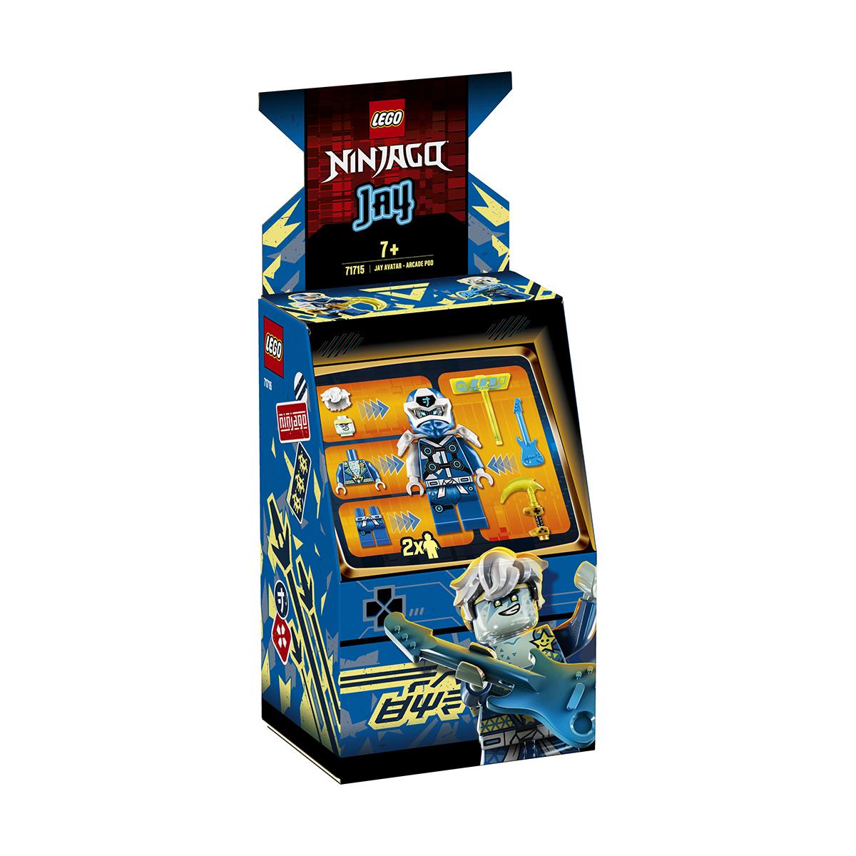 LEGO® Ninjago® - Avatar Jay - Capsula joc eletronic (71715)