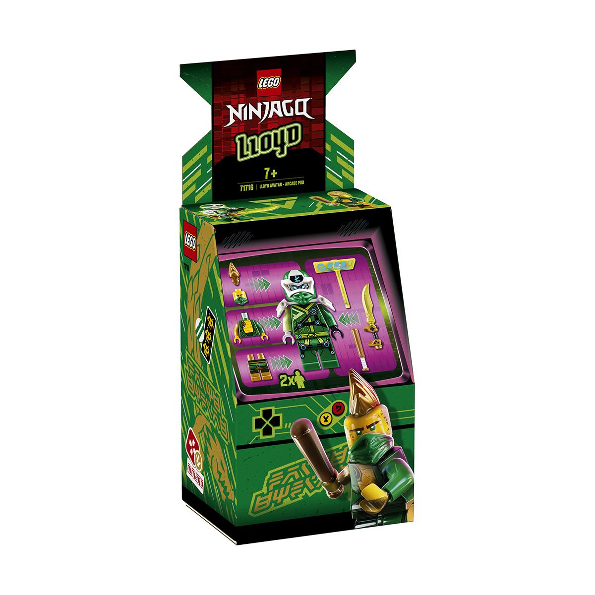 LEGO® Ninjago® - Avatar Lloyd - Capsula joc eletronic (71716)