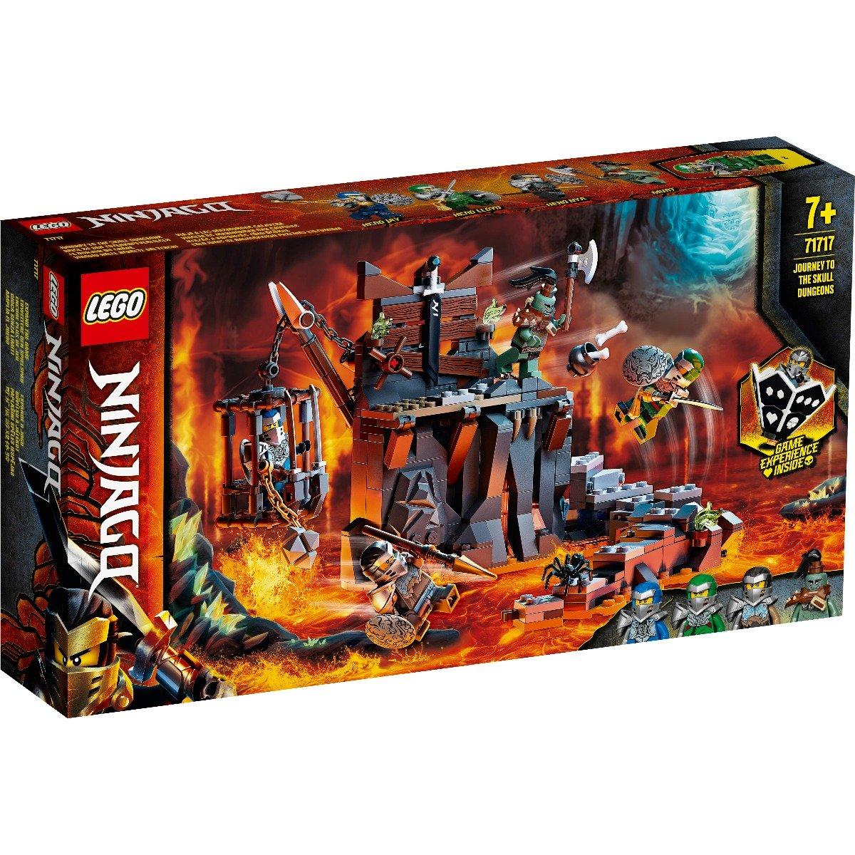 LEGO® Ninjago® - Calatorie catre temnitele Craniu (71717)