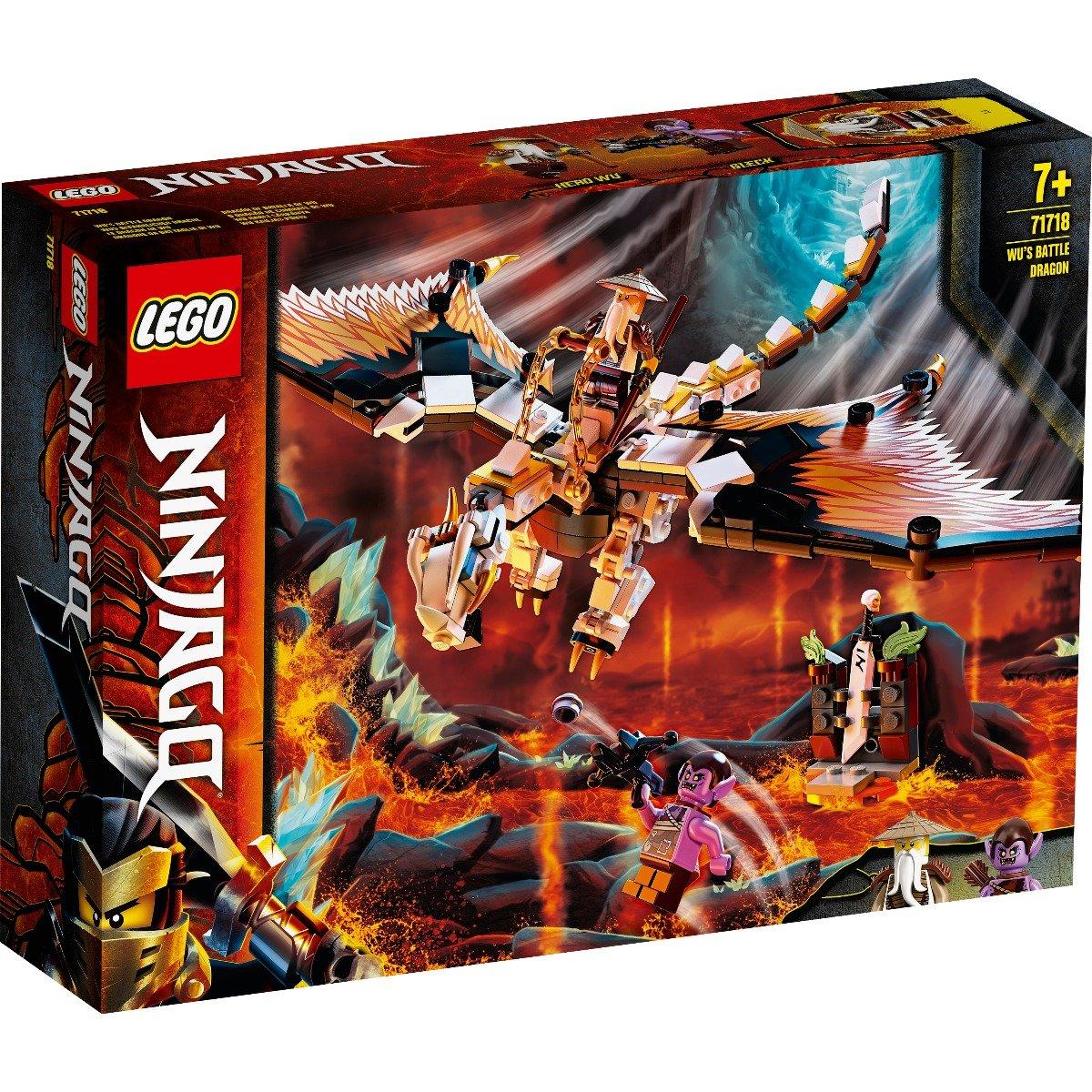LEGO® Ninjago® - Dragonul de lupta al lui Wu (71718)
