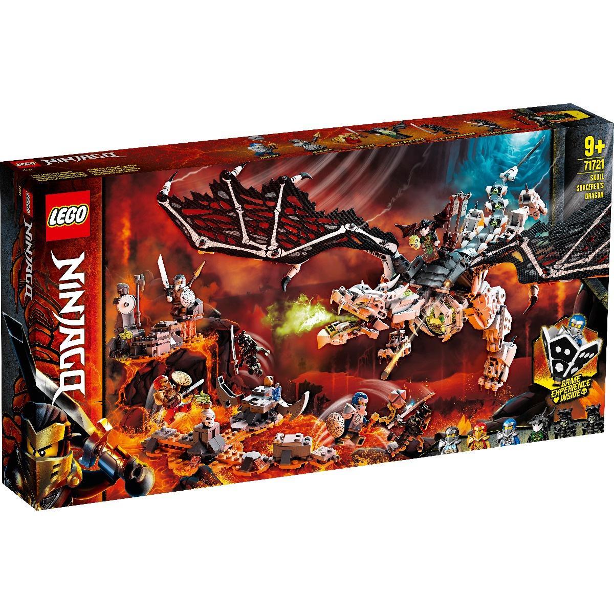 LEGO® Ninjago® - Dragonul Vrajitorului Craniu (71721)