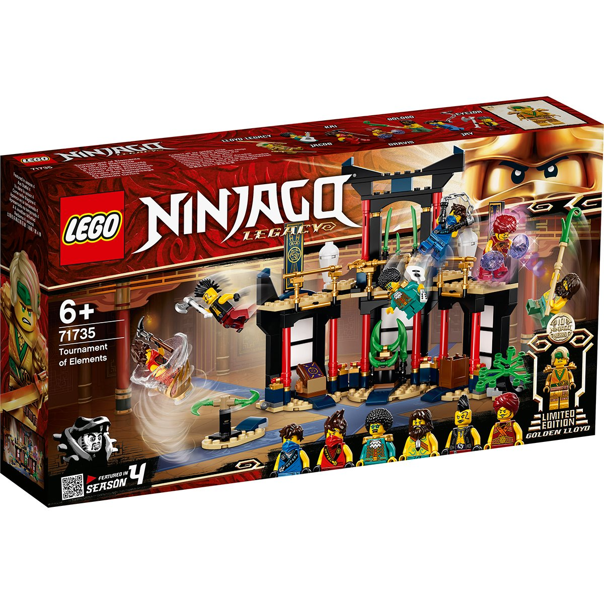 Lego® Ninjago® - Turnirul Elementelor (71735)