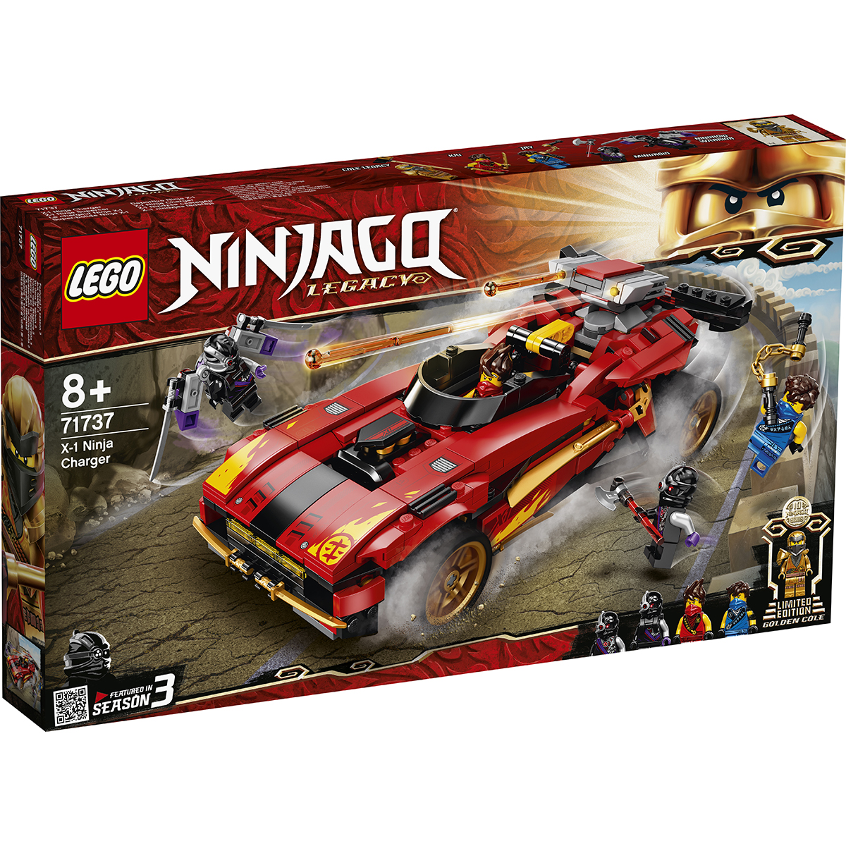 LEGO® Ninjago® - Incarcator Ninja X-1 (71737)